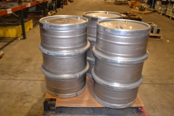 LOT OF 3 BRIGGS DRUMS, 1A1/X1-9/250/14 GB/1083