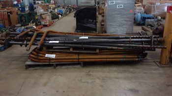 2 PALLETS OF LAKESIDE A53 INNER ELEMENT STEEL BOILER TUBING REPLACEMENT