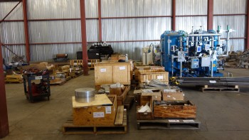 24 PALLETS OF STAINLESS AND HIGH NICKEL EQUIPMENT