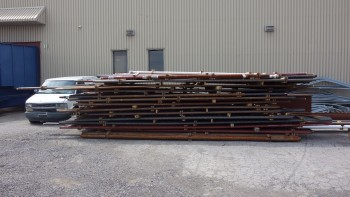 LARGE LOT OF STEEL BOILER TUBING TUBES