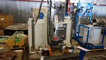 PROMIX N58-67315-PL-1 BOILER OXYGEN SCAVENGER AGITATOR CHEMICAL TREATMENT SYSTEM