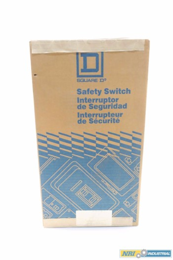 SQUARE D CHU362AWK 60 AMP NON-FUSIBLE DISCONNECT SWITCH