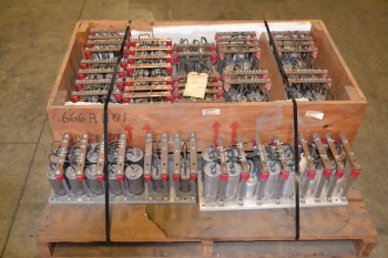 1 PALLET OF ASSORTED STATICON CAPACITORS