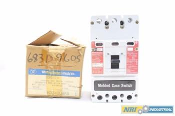 WESTINGHOUSE 400 AMP CIRCUIT BREAKER