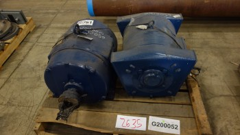 2X ASSORTED AC ELECTRIC MOTOR 100HP 575V-AC, GENERAL ELECTRIC