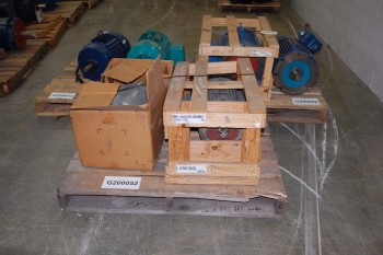 3 PALLETS OF ASSORTED AC MOTORS 15-30HP, MARATHON, WEG