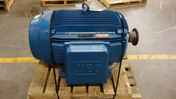 WEG 200UT10 504/5T 250HP 575V-AC 3PH AC ELECTRIC MOTOR