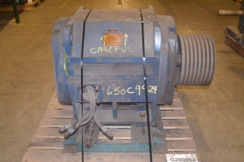 GENERAL ELECTRIC 11943 200HP INDUCTION MOTOR