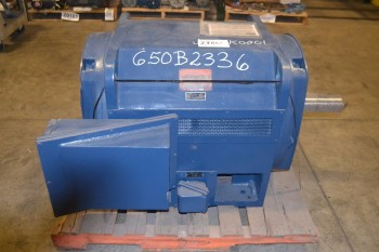GE 125812 INDUCTION MOTOR  300HP 1770RPM 4000V 40A 3PH