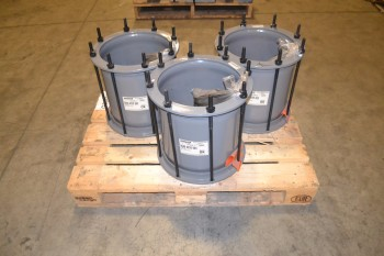 LOT OF 3 DRESSER 0040-0228-003 14IN COUPLING