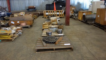 6 PALLETS OF ASSORTED POWER TRANSMISSION, GEARS, SPROCKETS