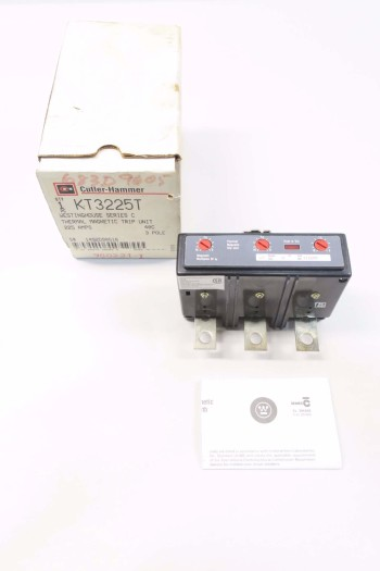 CUTLER HAMMER KT3225T 225 AMP CIRCUIT BREAKER