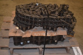 LOT OF 3 ASSORTED REXNORD ROLLER CHAINS