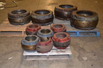 3 PALLETS OF COOPER SPLIT BEARING SLEEVES 155MMEX-380MMEX