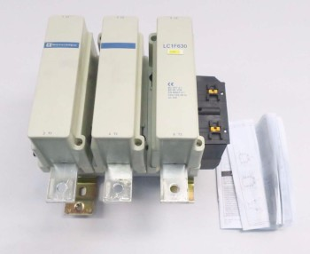 TELEMECANIQUE LC1F630 900 AMP CONTACTOR
