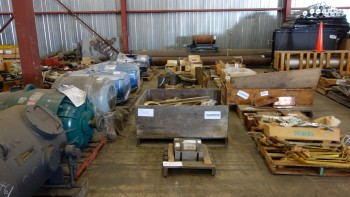 7 PALLETS OF ASSORTED BRASS POWER TRANSMISSION, GEARS, SEALS
