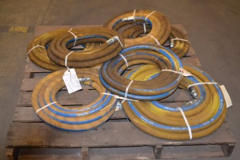 LOT OF 7 ASSORTED MINE MAXX PNEUMATIC HOSES, 400 PSI