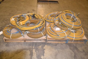 2 PALLETS OF MINE MAXX 400 PSI PNEUMATIC HOSES