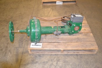 FISHER 16617121 SS 8 IN CONTROL VALVE