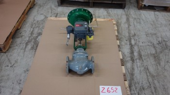 FISHER ED 667 2-1/2IN 150 FLANGED STEEL CONTROL VALVE