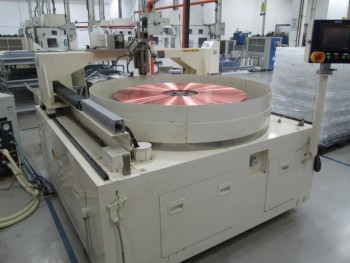 Fujikoshi PFM 19 Copper Table Facing & Grooving Machine