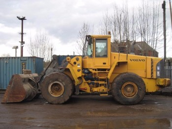 Volvo L150e Loading Shovel