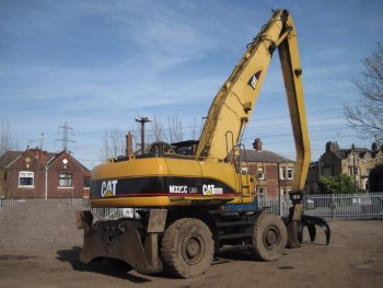Caterpillar 325C LMH Scrap Handler