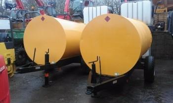 1 x Diesel Site Bowser 2000Ltr/500Gal