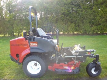 TORO ZERO TURN GM 7210 62 DECK 5FT DIESEL MOWER