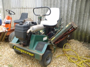 ALLETT CONQUEROR RIDE ON MOWER