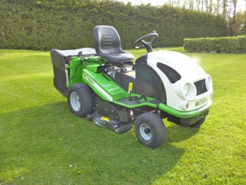ETESIA HYDRO 100 PETROL LOW TIP RIDE ON MOWER