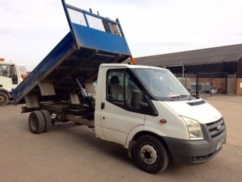 2010 Ford Transit 115 T350 Tipper