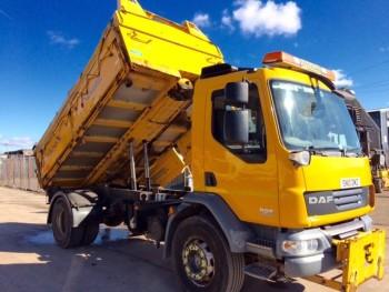 2010 DAF LF 55-220 Tipper