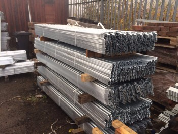 129m of New 1.75m high Palisade Fencing.