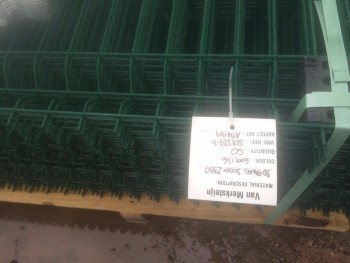 Brand new Green Mesh Fencing 1.75m High