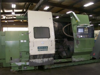 Okuma LC50-25C 4-Axis CNC Turning Center, Mdl LC50