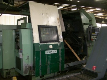 Okuma  2-Axis CNC Turning Center, Mdl LC50-1S