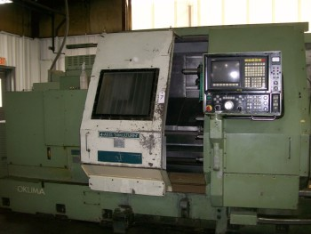 Okuma 2-Axis CNC Turning Center, Mdl LC40-2CT