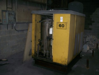 Air Compressor (Rollair), 609 Series, 60-Hp