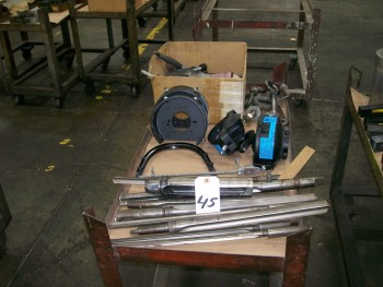 Straight Drill Bits (9) and Other Contents