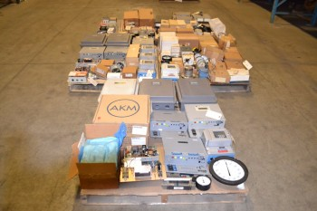 5 PALLETS OF ASSORTED INSTRUMENTATION