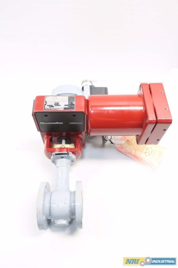 MASONEILAN DRESSER 1.5 IN STEEL PNEUMATIC FLANGED CONTROL VALVE