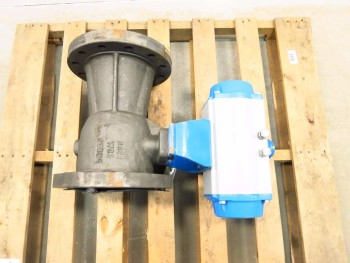 NELES JAMESBURY 6 IN 300 STEEL BALL VALVE