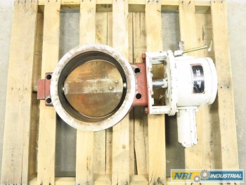 BIF 12 IN IRON STAINLESS WAFER BUTTERFLY VALVE