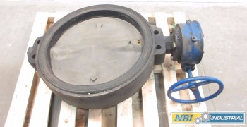 KEYSTONE 24 IN MANUAL BUTTERFLY VALVE