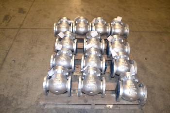 1 PALLET OF CRANE 147XU CHECK VALVES, 3 IN, FLANGED