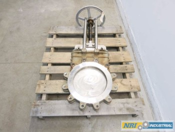 NPV 14 IN STAINLESS KNIFE GATE VALVE