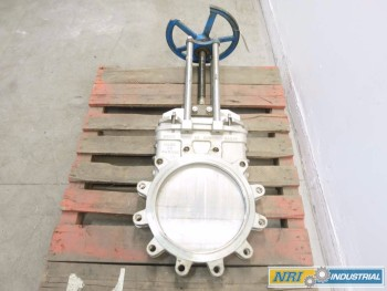 NAQIP 14 IN STAINLESS KNIFE GATE VALVE