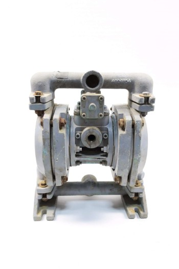 ITT 1/2 IN 3/8 IN 1 IN 1 IN NPT STAINLESS DIAPHRAGM PUMP