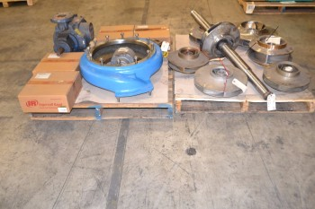 2 PALLETS OF ASSORTED PUMPS AND PUMP REPLACEMENT PARTS
